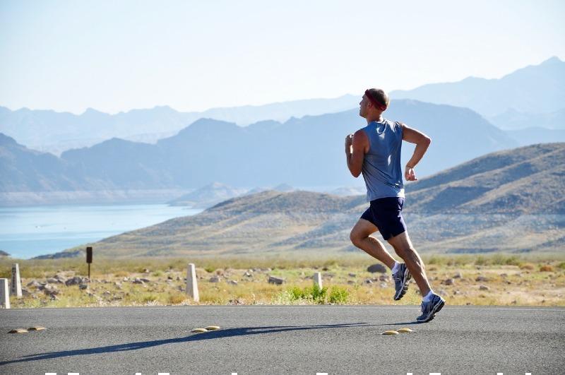 adventure athlete athletic daylight | exercises to improve running