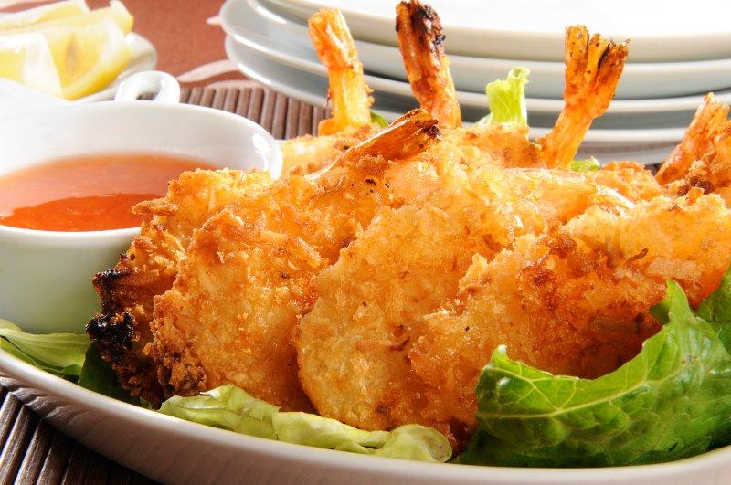 A Plate of Coconut Shrimp   Keto Air Fryer Recipes
